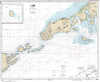 Buy map Unimak and Akutan Passes and approaches; Amak Island (16520-23) by NOAA