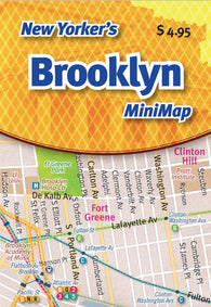 Buy map New Yorkers Brooklyn Mini-Map by Opus Publishing