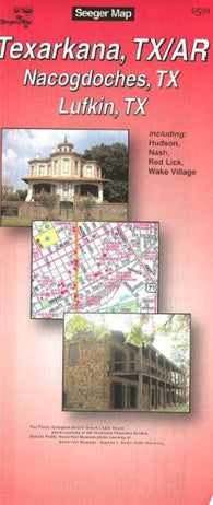 Buy map Texarkana, Texas and Arkansas by The Seeger Map Company Inc.