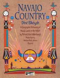 Buy map Navajo Country : Diné Bikéyah Geographic Dictionary by Time Traveler Maps