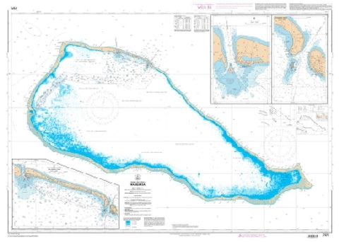Buy map Rangiroa by SHOM