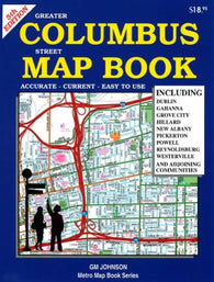 Buy map Columbus, Ohio, Street Map Book, 5th edition by GM Johnson