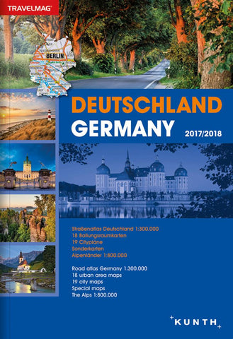 Buy map Germany, Road Atlas Travelmag (German/English ed) by Kunth Verlag