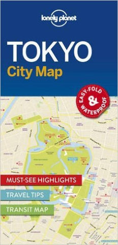 Buy map Tokyo City Map by Lonely Planet Publications