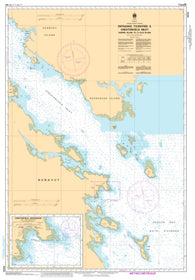 Buy map Entrance to/Entree a Chesterfield Inlet (Fairway Island to/a Ellis Island) by Canadian Hydrographic Service