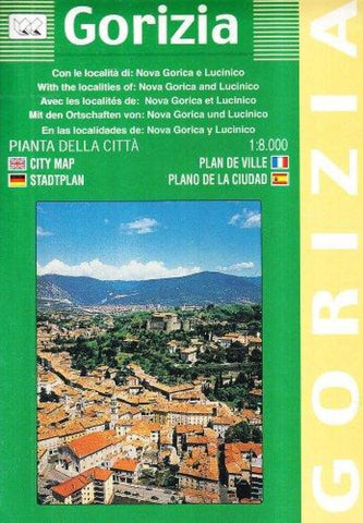 Buy map Gorizia, Italy by Litografia Artistica Cartografica