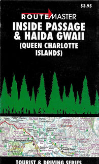 Buy map Inside Passage and Haida Gwaii (Queen Charlotte Islands) by Route Master
