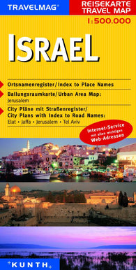 Buy map Israel by Kunth Verlag