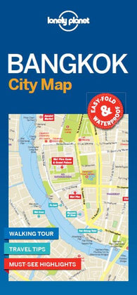 Buy map Bangkok City Map by Lonely Planet Publications