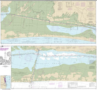 Buy map Intracoastal Waterway Laguna Madre Middle Ground to Chubby Island (11306-22) by NOAA