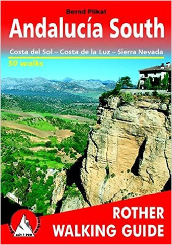 Buy map Andalucia, South, Walking Guide by Rother Walking Guide, Bergverlag Rudolf Rother