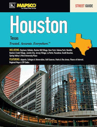 Buy map Houston, Texas, Street Guide by Kappa Map Group