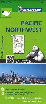 Buy map Pacific Northwest (171) by Michelin Maps and Guides