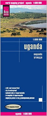 Buy map Uganda by Reise Know-How Verlag