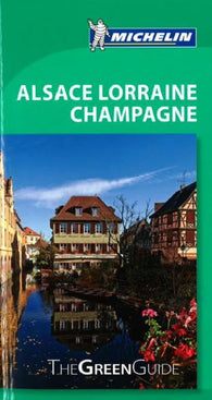 Buy map Alsace, Lorraine and Champagne, Green Guide by Michelin Maps and Guides