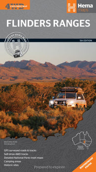 Buy map Flinders Ranges, Australia by Hema Maps