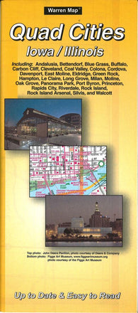 Buy map Quad Cities, Iowa by The Seeger Map Company Inc.