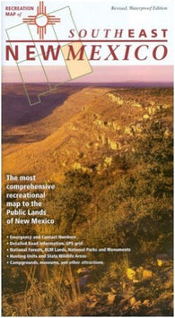 Buy map New Mexico, Southeast, Recreation Map by Public Lands Interpretive Association