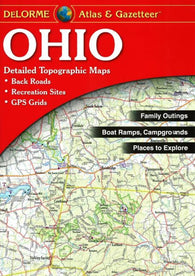 Buy map Ohio, Atlas and Gazetteer by DeLorme