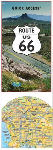 Buy map Historic Route 66, Quick Access Map by Global Graphics