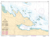 Buy map Approaches to/Approches a Nanoose Harbour by Canadian Hydrographic Service
