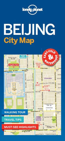 Buy map Beijing City Map by Lonely Planet Publications