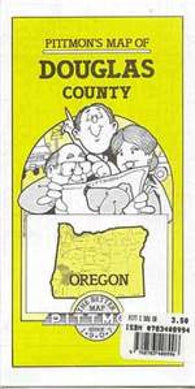 Buy map Douglas County, Oregon by Pittmon Map Company
