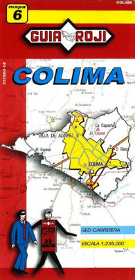 Buy map Colima, Mexico, State Map by Guia Roji