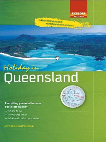 Buy map Holiday in Queensland by Universal Publishers Pty Ltd