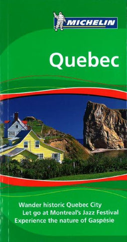 Buy map Quebec, Green Guide by Michelin Maps and Guides