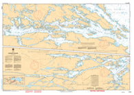 Buy map French River by Canadian Hydrographic Service