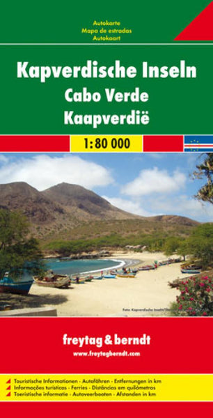 Buy map Cape Verde Islands by Freytag-Berndt und Artaria