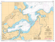 Buy map Epinette Point to/a Terrington Basin by Canadian Hydrographic Service