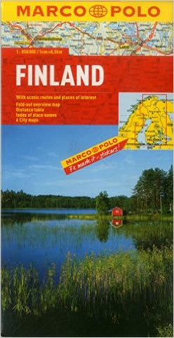 Buy map Finland by Marco Polo Travel Publishing Ltd