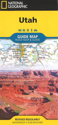 Buy map Utah Road Map & Guide by National Geographic Maps