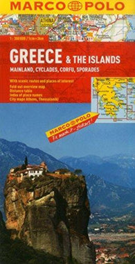 Buy map Greece and The Islands by Marco Polo Travel Publishing Ltd