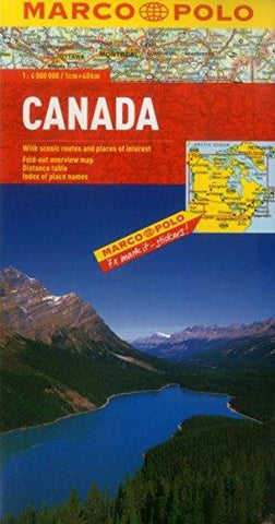 Buy map Canada by Marco Polo Travel Publishing Ltd