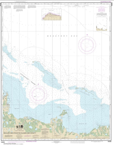 Buy map McClure and Stockton Islands and vicinity (16046-8) by NOAA