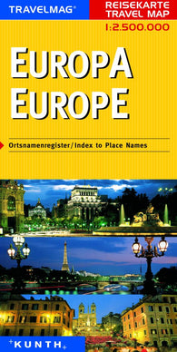 Buy map Europe by Kunth Verlag