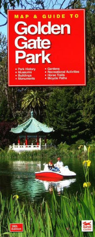 Buy map Golden Gate Park, California Map and Guide by Rufus Graphics