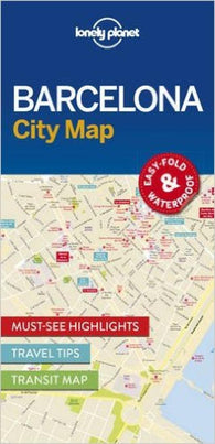 Buy map Barcelona City Map by Lonely Planet Publications