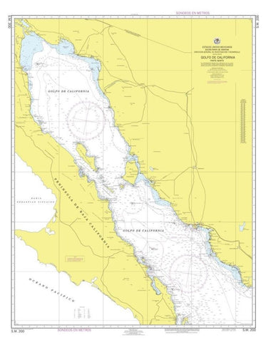 Buy map Golfo de California Parte Norte by Secretaria de Marina