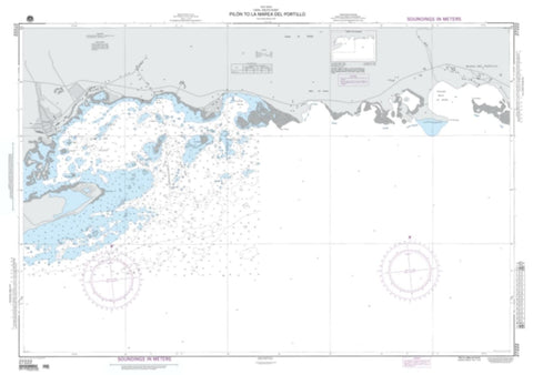 Buy map Pilon To La Marea Del Portillo (NGA-27222-11) by National Geospatial-Intelligence Agency