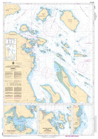 Buy map Approaches to/Approches a Sidney by Canadian Hydrographic Service