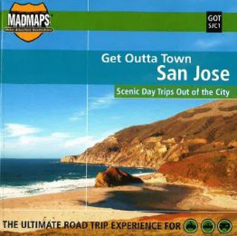 Buy map San Jose, California, Get Outta Town by MAD Maps