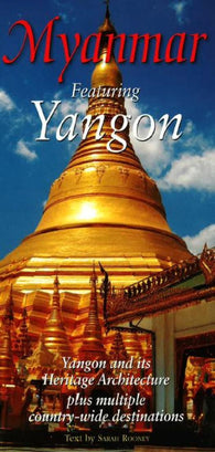Buy map Myanmar by Odyssey Publications