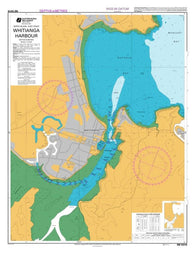 Buy map WHITIANGA HARBOUR (5316) by Land Information New Zealand (LINZ)