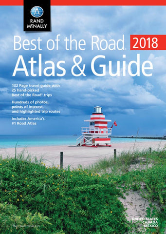 Buy map United States, 2017 Best of the Road, Atlas and Guide by Rand McNally