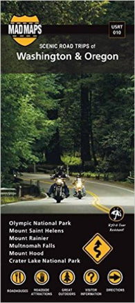 Buy map Oregon and Washington, Regional Scenic Tours by MAD Maps