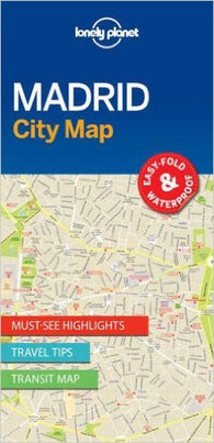 Buy map Madrid, Spain City Map by Lonely Planet Publications